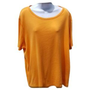 Lands End Tee Top Short Sleeve Plus Size 1x